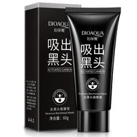 Черная маска-пленка BioAqua с активированным углем от черных точек и прыщей