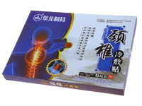 Охлаждающий лечебный пластырь от болей в шее JING ZHUI LENG FU (12х16 см !!!)