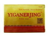 Серное мыло от витилиго, дерматита, угрей, псориаза и прочих заболеваний кожи «Yiganerjing»