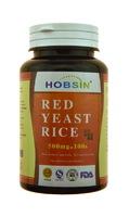 Капсулы HOBSIN Красный дрожжевой рис (Red Yeast Rice) - для снижения уровня холестерина