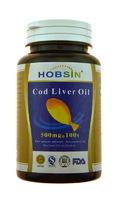 Капсулы HOBSIN Рыбий жир (Жир печени трески)