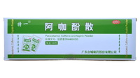 Порошок аспирина, парацетамола, кофеина - для быстрого лечения простуды