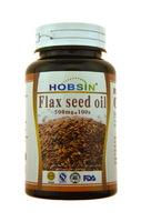 Капсулы HOBSIN Масло семян льна (Flax seed oil)