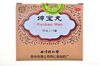 """Болюсы от менопаузы """"Кунбао ван"""" (Kunbao wan)"""