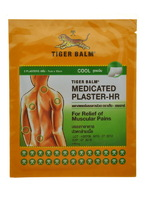 Охлаждающий обезболивающий тигровый пластырь Medicated Plaster Cool TIGER BALM
