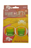 Невидимые наклейки для поднятия груди Bare&Lifts, упаковка 10 шт.