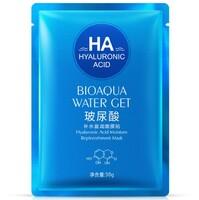Тканевая маска BioAqua с гиалуроновой кислотой (синяя упаковка)