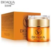Увлажняющий крем для лица BioAqua с лошадиным маслом