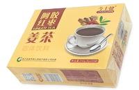 """Имбирный чай """"Jinshijian Ejiao Jujube Ginger Tea"""" с коричневым сахаром, китайскими финиками и эцзяо - для сохранения молодости женского организма"""