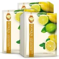 Тканевая маска для лица BioAqua с экстрактом лимона