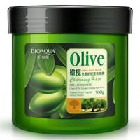 Питательная маска для волос с маслом оливы