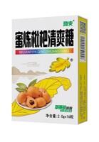 Леденцы для горла с мушмулой и мёдом (картонная упаковка)