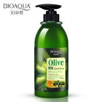 Питательный шампунь для волос с маслом оливы