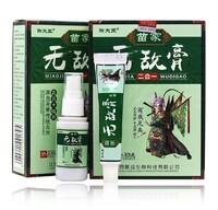Комплекс для лечения псориаза (мазь + спрей) Miaojia Wudi Gao