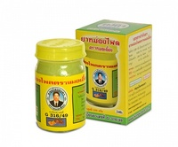 Тайский желтый бальзам с горным имбирем Плай -  особенно эффективен при остеохондрозе