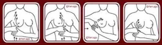 Китайский массаж для увеличения груди